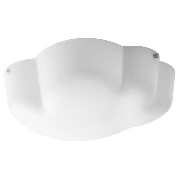YLLESTA plafonjera bela 13 W 13 cm 33 cm