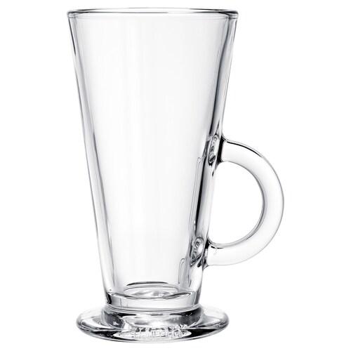 BEPRÖVAD كأس زجاج شفاف 15 سم 8 سم 29 سل