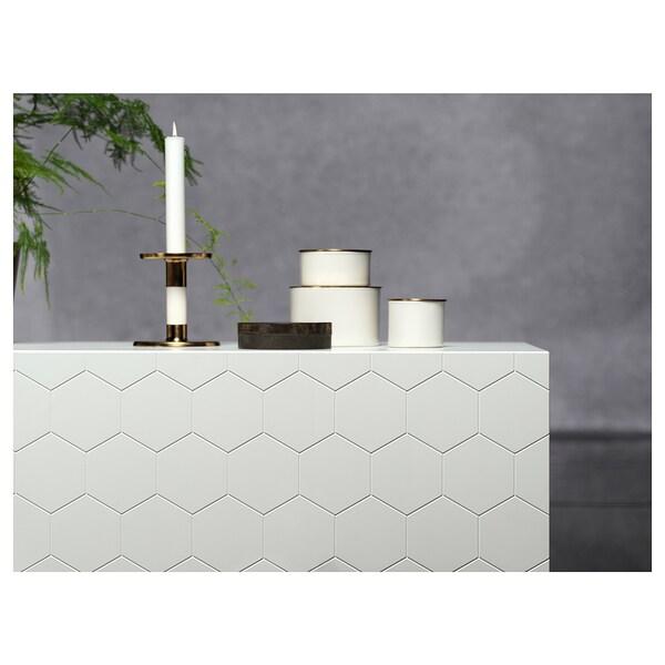 BESTÅ خزانة حائط مع بابين أبيض/Vassviken أبيض 60 سم 20 سم 128 سم