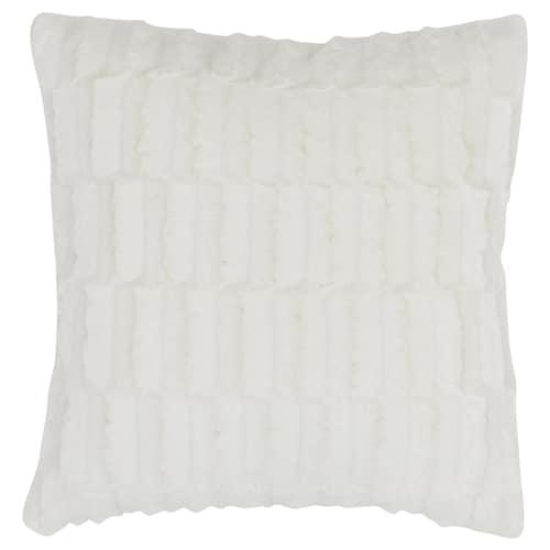 BLÅREGN غطاء وسادة أبيض 50 سم 50 سم