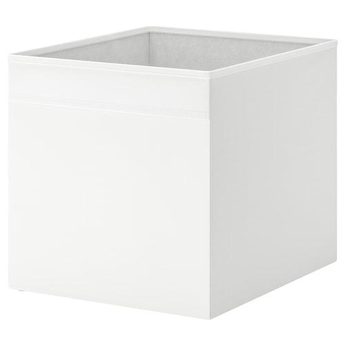 DRÖNA صندوق أبيض 33 سم 38 سم 33 سم