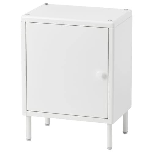 DYNAN خزانة مع باب أبيض 40 سم 27 سم 54 سم