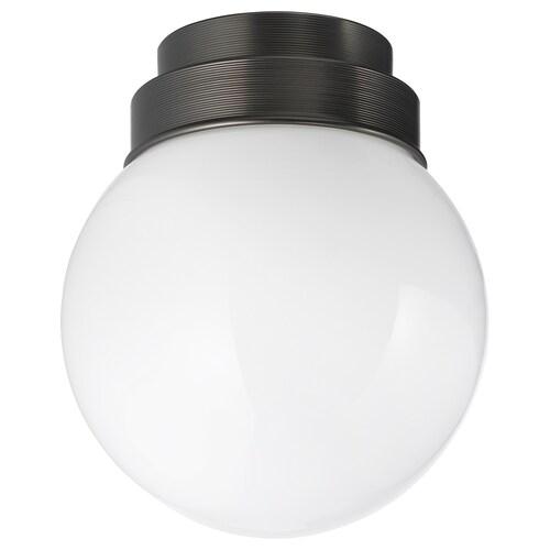 FRIHULT مصباح سقف/حائط أسود 5.3 واط 19 سم 16 سم