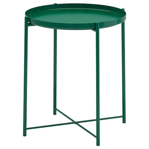 GLADOM طاولة بصينية أخضر 53 سم 45 سم