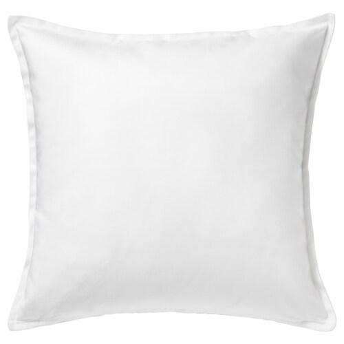 GURLI غطاء وسادة أبيض 50 سم 50 سم