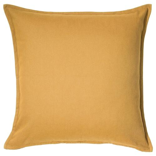 GURLI غطاء وسادة ذهبي-أصفر 50 سم 50 سم