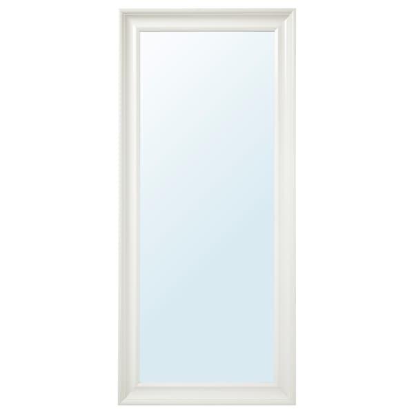 HEMNES مرآة أبيض 74 سم 165 سم