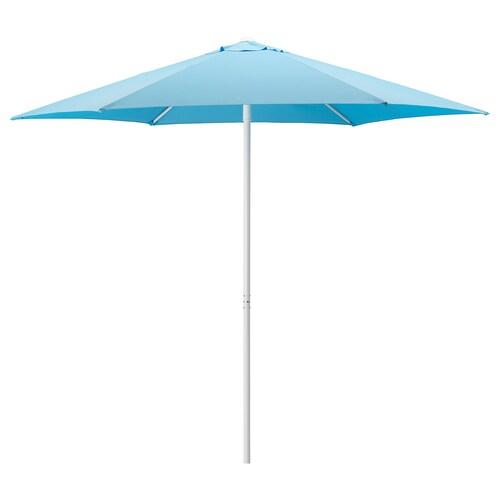 HÖGÖN مظلة أزرق فاتح 170 g/m² 239 سم 270 سم 38 مم