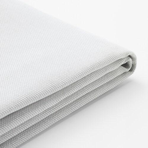 HOLMSUND غطاء لكنبة-سرير زاوية Orrsta أبيض-رمادي فاتح