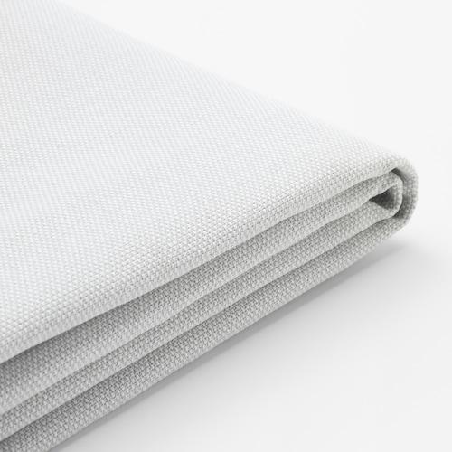HOLMSUND غطاء لكنبة-سرير ثلاث مقاعد Orrsta أبيض-رمادي فاتح