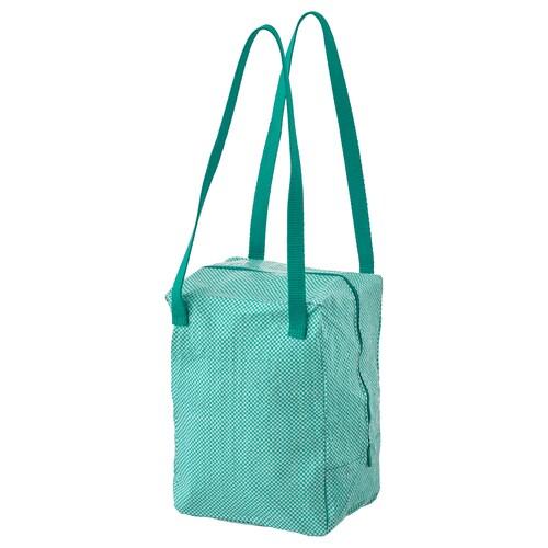 IKEA 365+ حقيبة غداء أخضر 22 سم 17 سم 30 سم