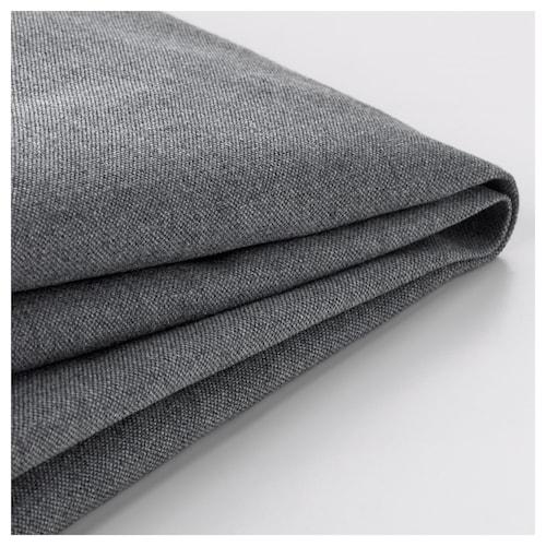 KLIPPAN غطاء كنبة مقعدين Vissle رمادي 2 قطعة