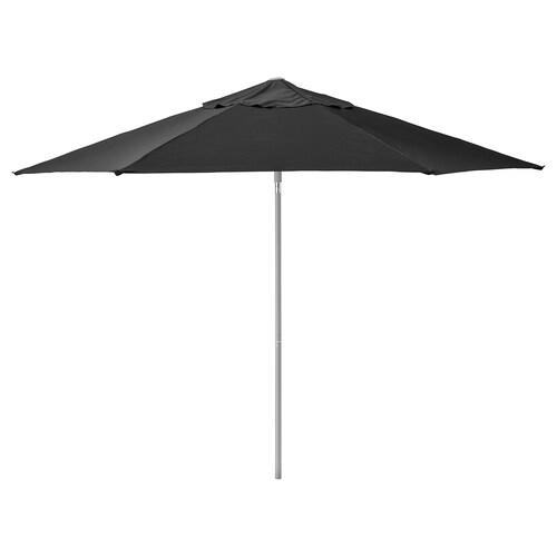 KUGGÖ / LINDÖJA مظلة أسود 180 g/m² 240 سم 300 سم 38 مم