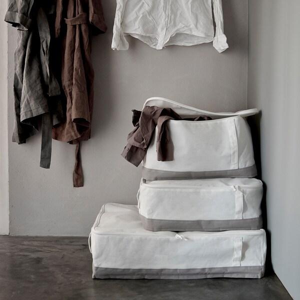 LACKISAR حقيبة تخزين 34 سم 51 سم 28 سم