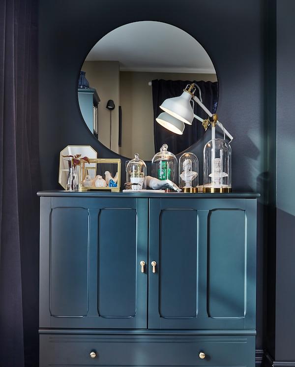 LINDBYN مرآة أسود 80 سم