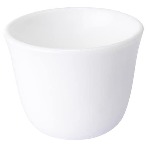 LJUMMEN كوب قهوة زجاج/أبيض أوبال 5 سم 6 سم 7 سل