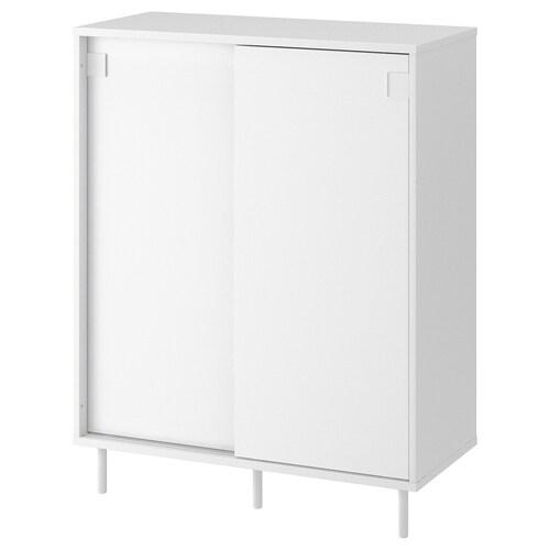 MACKAPÄR خزانة أحذية/خزانة أبيض 80 سم 35 سم 102 سم