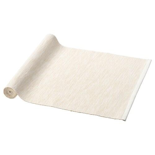 MÄRIT مفرش طاولة طبيعي 130 سم 35 سم