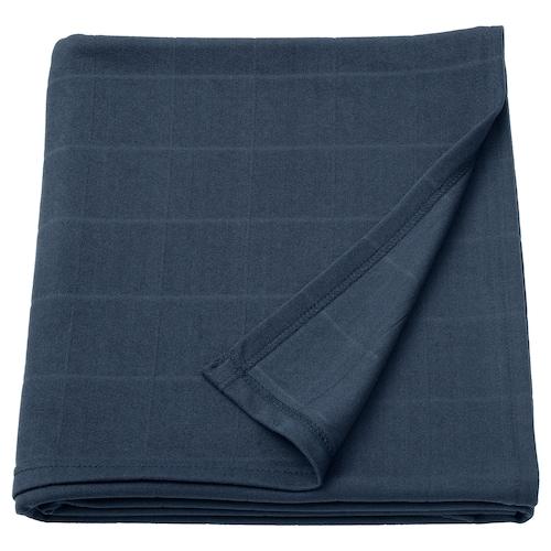 ODDHILD غطاء أزرق غامق 170 سم 120 سم