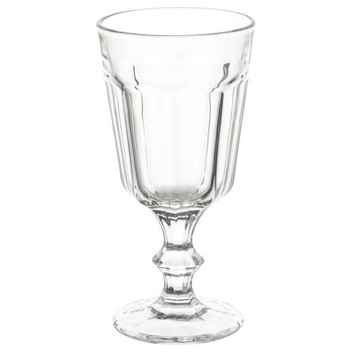 POKAL كأس زجاج شفاف 16 سم 20 سل