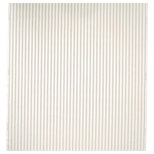 RADGRÄS قماش أبيض/بيج مخطط 230 g/m² 150 سم