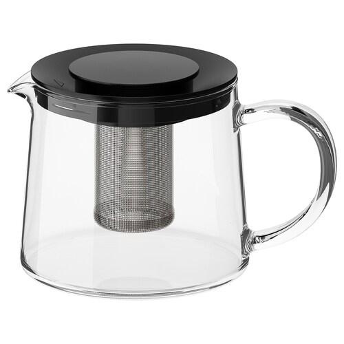 RIKLIG دلة شاي زجاج 10 سم 0.6 ل