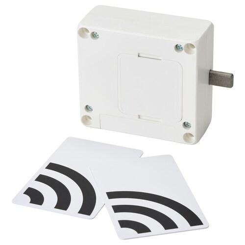 ROTHULT قفل ذكي أبيض 8.2 سم 3.5 سم 7.5 سم
