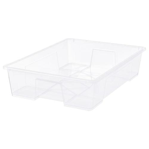 SAMLA صندوق شفاف 78 سم 56 سم 18 سم 55 ل