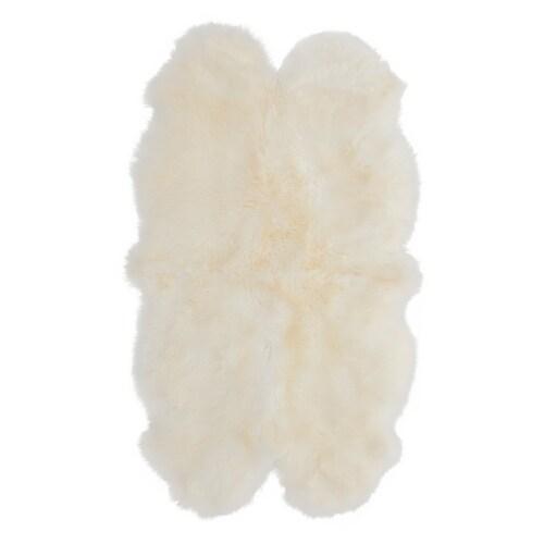 SKOLD جلد خروف أبيض 160 سم 90 سم 5 سم