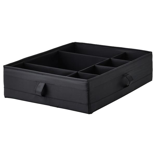 SKUBB صندوق بحجيرات أسود 44 سم 34 سم 11 سم