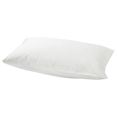 SÖMNTUTA كيس مخدة أبيض 400 بوصة مربعة 1 قطعة 50 سم 80 سم