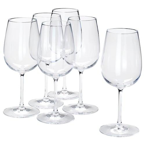 STORSINT كأس زجاج شفاف 21.5 سم 49 سل 6 قطعة