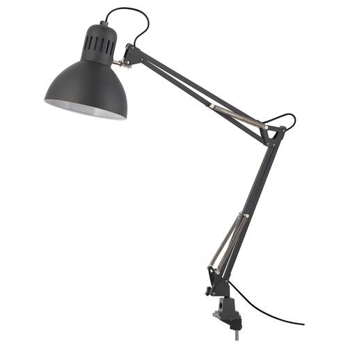 TERTIAL مصباح مكتب رمادي غامق 13 واط 17 سم 1.5 م