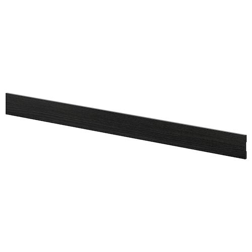 TINGSRYD قاعدة مظهر الخشب أسود 220.0 سم 8 سم 220 سم 8.0 سم 1.0 سم