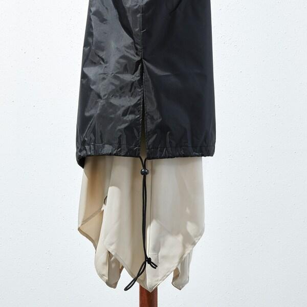 TOSTERÖ غطاء مظلة أسود 220 سم 38 سم 35 سم