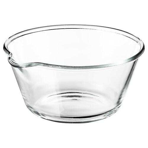 VARDAGEN سلطانية زجاج شفاف 13 سم 26 سم