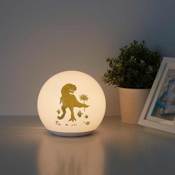 ÄNGARNA LED table lamp, dinosaur