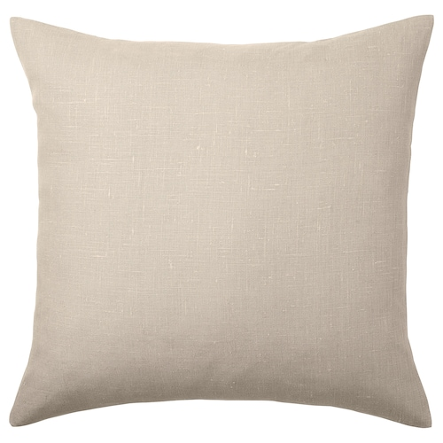 AINA cushion cover beige 50 cm 50 cm