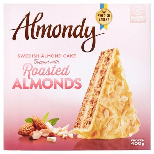 ALMONDY almond cake, frozen 400 g