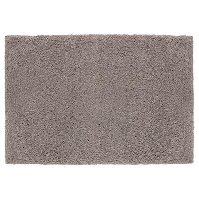 ALMTJÄRN Bath mat, beige, 60x90 cm