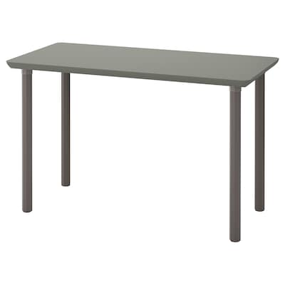 ÅMLIDEN / ALVARET Table, grey-green/grey, 120x60 cm