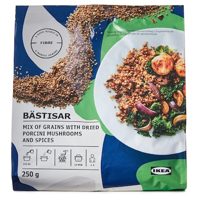 BÄSTISAR Mix of grains with mushrooms, 250 g
