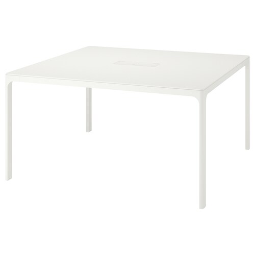 BEKANT conference table white 140 cm 140 cm 73 cm 100 kg