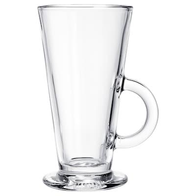BEPRÖVAD كأس, زجاج شفاف, 29 سل