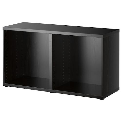 BESTÅ frame black-brown 120 cm 40 cm 64 cm