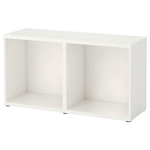 BESTÅ frame white 120 cm 40 cm 64 cm