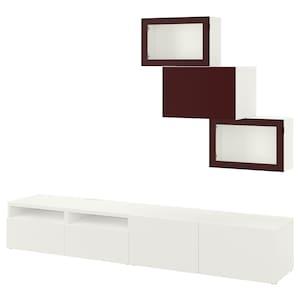 Colour: White lappviken/selsviken dark red-brown.