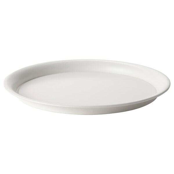 BIKARBONAT Saucer, in/outdoor white, 29 cm