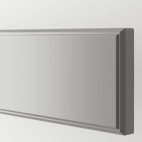 BODBYN Drawer front, grey, 60x10 cm
