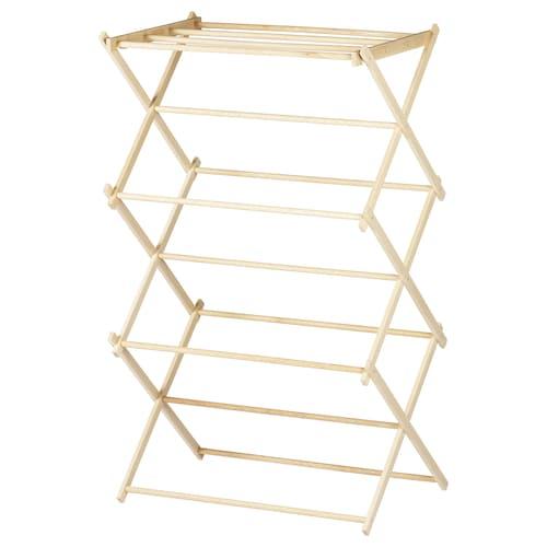 BORSTAD drying rack 64 cm 40 cm 105 cm 8 kg